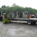 new shipment of machines
