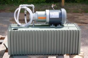 External oil pump & motor by Swisset Tool; much less than Esco!